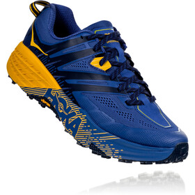Hoka One One Speedgoat 3 Running Shoes Herre galaxy blue/old gold